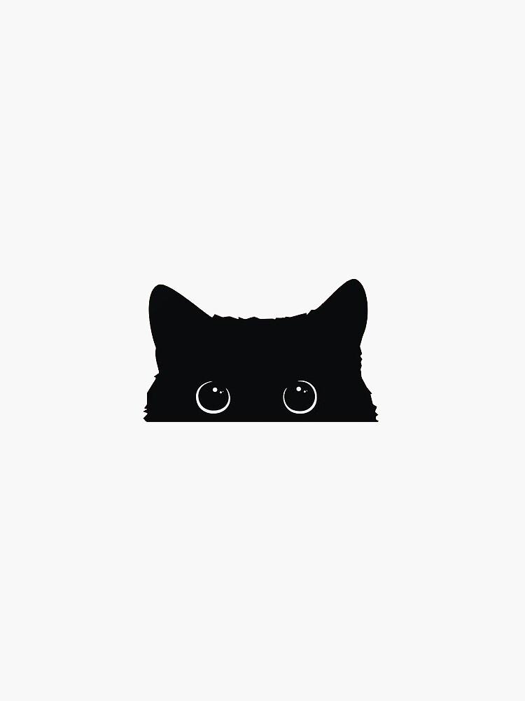 «Chat noir mignon» par dgcio