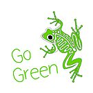 Frog - Go Green by S. Camille Crawford