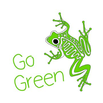 Frog - Go Green by CorpseCafe