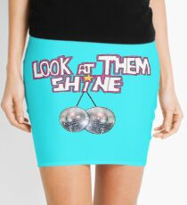 Mr Susan Tribute Mini Skirt