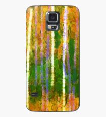 Colorful Forest Abstract | Triptych Part 2 Case/Skin for Samsung Galaxy