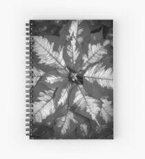 Playful Poinsetta Spiral Notebook
