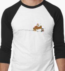 Let's Go Exploring  Men's Baseball ¾ T-Shirt