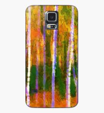 Colorful Forest Abstract | Triptych Part 1 Case/Skin for Samsung Galaxy
