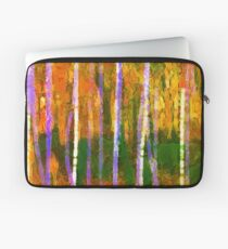 Colorful Forest Abstract | Triptych Part 1 Laptop Sleeve