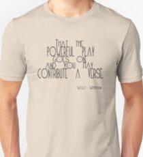 O me! O life! Unisex T-Shirt