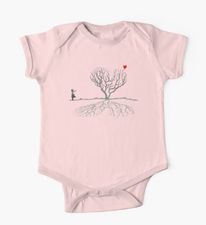 Banksy Heart Tree Kids Clothes