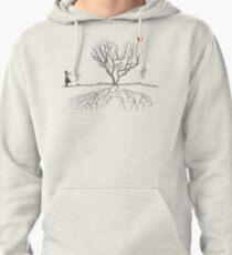 Banksy Heart Tree Pullover Hoodie