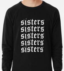 Schwestern James Charles Merch Repeat White Leichtes Sweatshirt