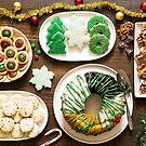 Christmas Holiday Dessert Spread by carlacardello