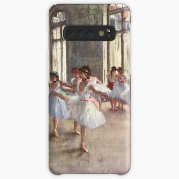 Edgar Degas French Impressionism Oil Painting Ballerinas Rehearsing Dancing Samsung Galaxy Snap Case