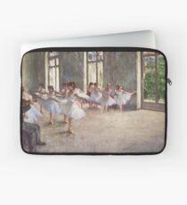 Funda para portátil Edgar Degas Impresionismo Francés Pintura Al óleo Bailarinas Ensayando Bailar