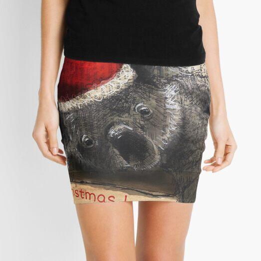 Christmas Koala Mini Skirt