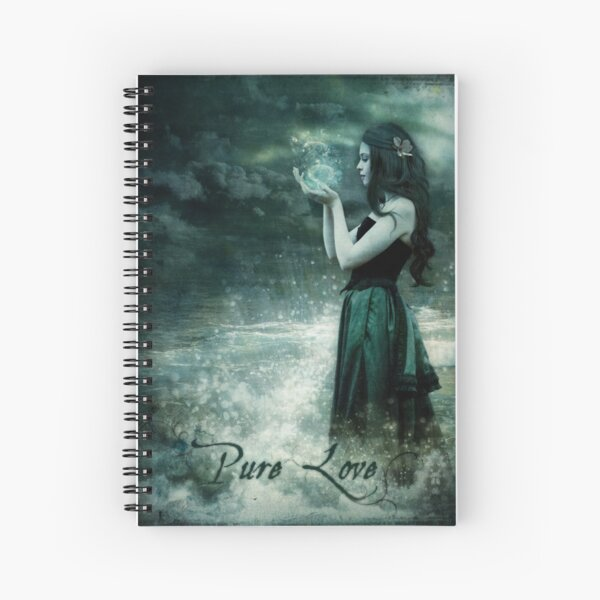 Pure Love Spiral Notebook