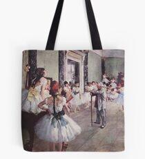 Bolsa de tela Edgar Degas Impresionismo francés Pintura al óleo Bailarinas Ensayo