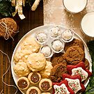 Christmas Cookie Tray by carlacardello