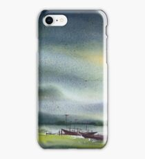 Monsoon Village River & Fishing Boats iPhone Case/Skin