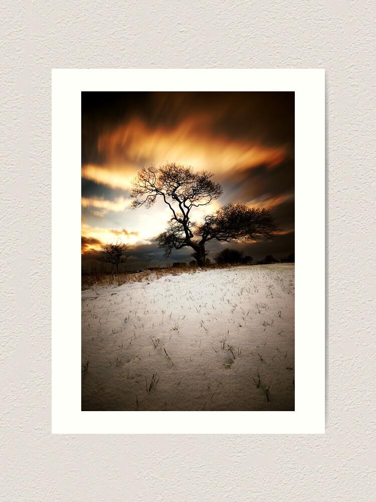 Alternate view of Magical tree Art Print