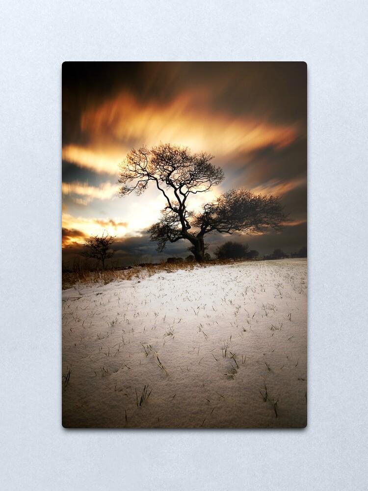 Alternate view of Magical tree Metal Print