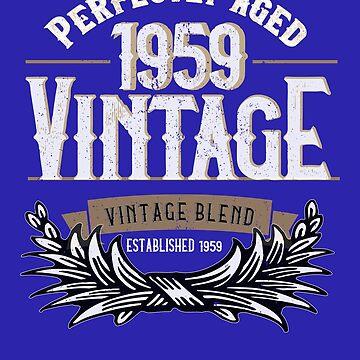 Vintage 1959 Birth Year by AhuvaR
