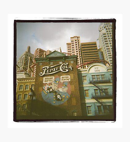 pepsi-cola [in film] Photographic Print
