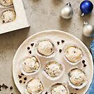 Chocolate Chip Snowball Cookies by carlacardello