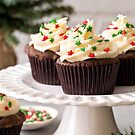Christmas Chocolate Gingerbread Cupcakes 1 by carlacardello