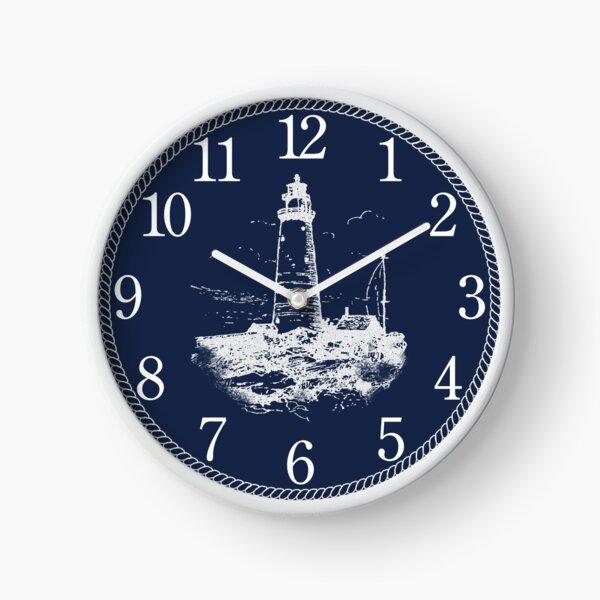 Navy Coastal Clock I Clock