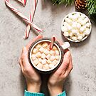 Peppermint Hot Chocolate by carlacardello