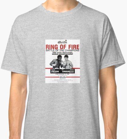 "Pryor vs. Argüello ""Ring of Fire"" Camiseta clásica"