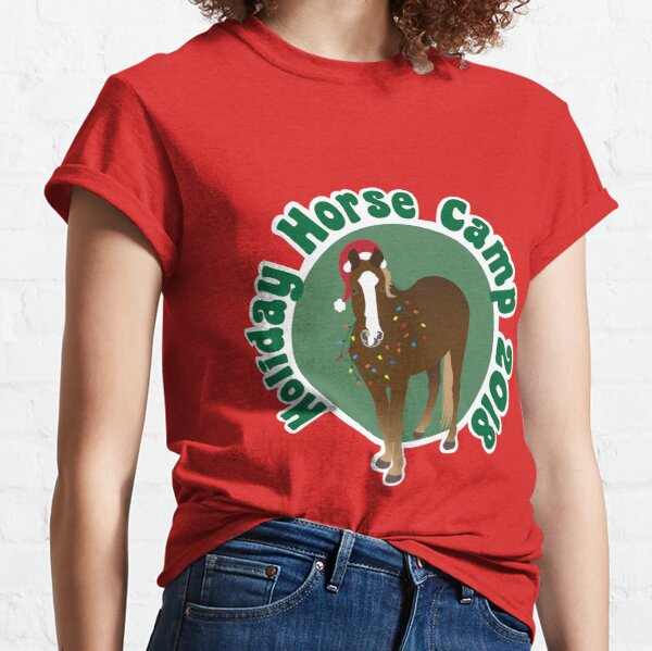 Holiday Horse Camp Classic T-Shirt