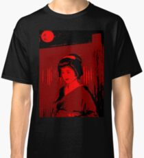 Geisha in Red Classic T-Shirt