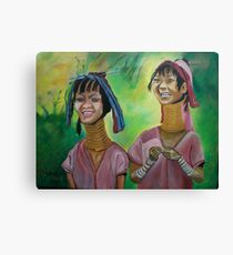 Hill Tribe Canvas Print