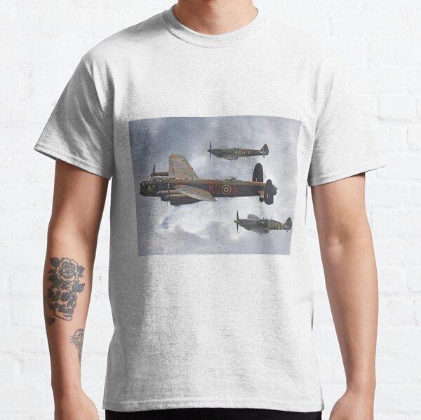 The Battle Of Britain Memorial Flight - Shoreham 2014 Classic T-Shirt