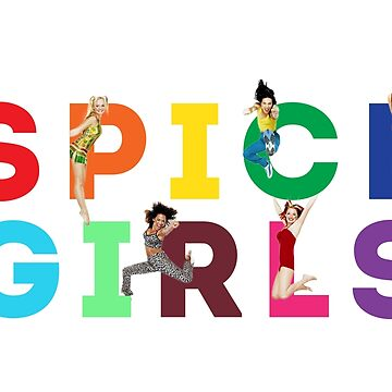 Spice Girls by juliatleao