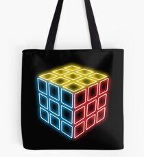 Neon Rubix Remix Tote Bag