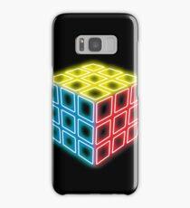 Neon Rubix Remix Samsung Galaxy Case/Skin