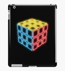 Neon Rubix Remix iPad Case/Skin