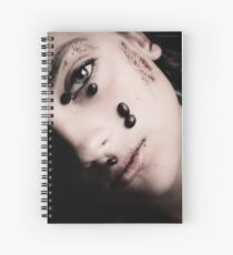 woman_with_coffee_flavor Spiral Notebook