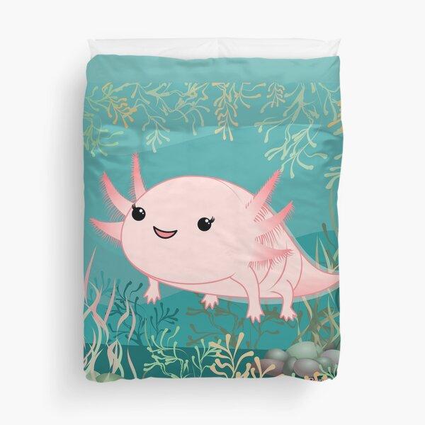 Axolotl baby kawaii Duvet Cover