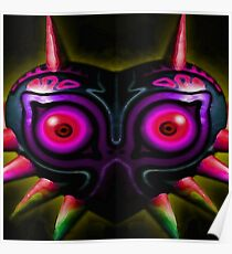 majora's shadow mask Poster