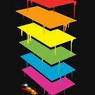 R A I N B O W . T O W E R . by Pinhead Industries