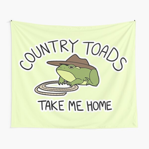 Country Toads Tapestry
