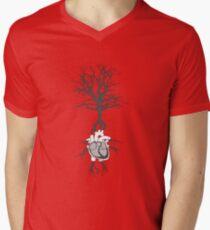Living Together Mens V-Neck T-Shirt