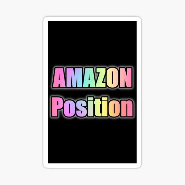 Posición de AMAZON Pegatina