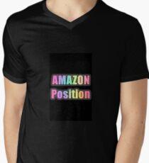 AMAZON Position V-Neck T-Shirt