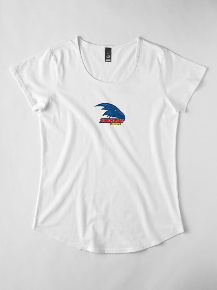 Alternative Ansicht von Adelaide Crows Premium Rundhals-Shirt