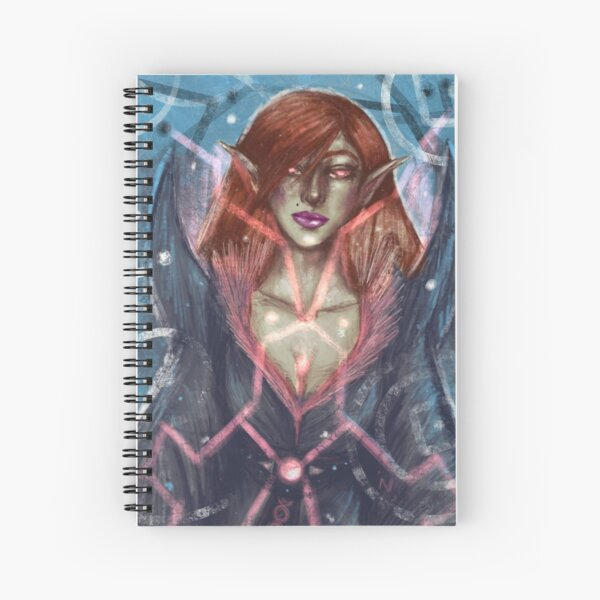 Sorceress Spiral Notebook