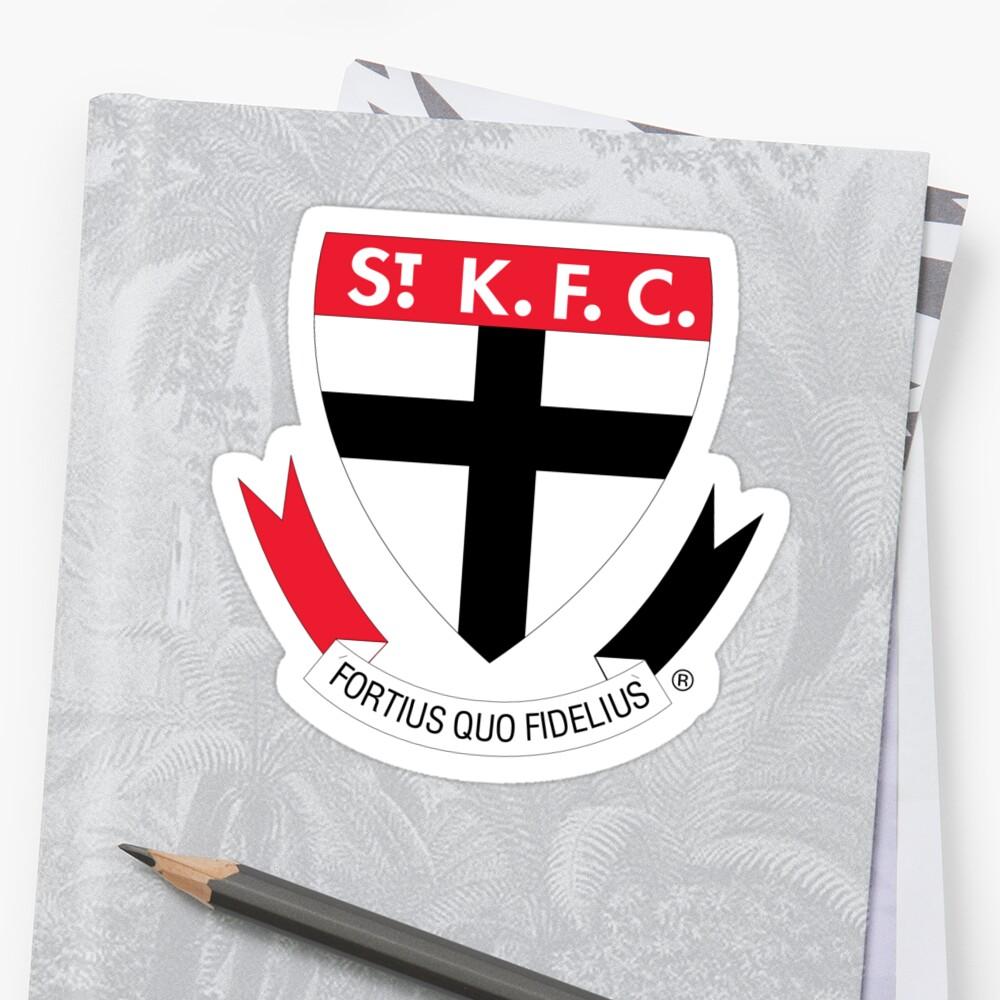 St. Kilda Heiligen Sticker
