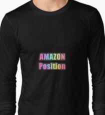 AMAZON Position - (transparent) Long Sleeve T-Shirt